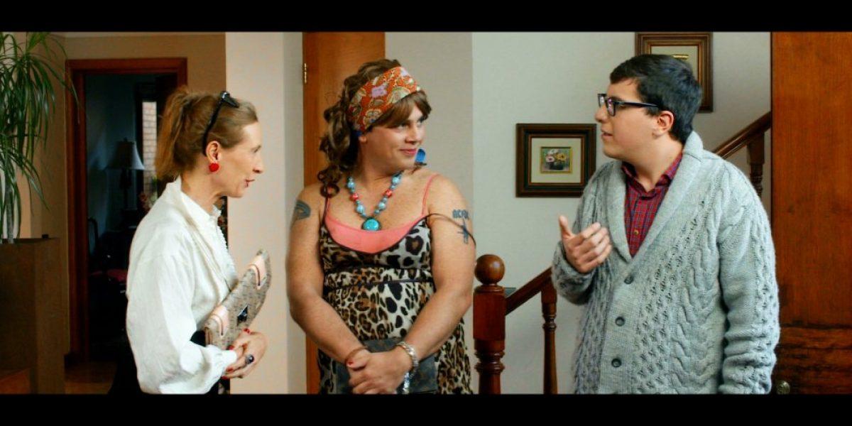 Viñuela se transformó en mujer para su debut en el cine