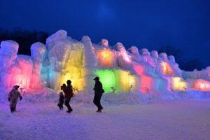 En la ciudad de Sapporo (Japón) se desarrolla la 65º edición del Festival de la Nieve. El festival de una semana comenzó con un total de 198 estatuas de nieve. Foto:AFP. Imagen Por: