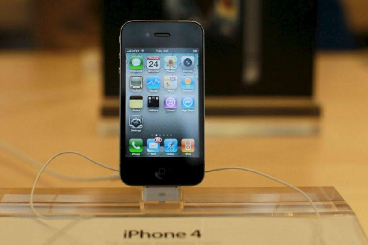 El iPhone 4. Foto:getty images. Imagen Por: