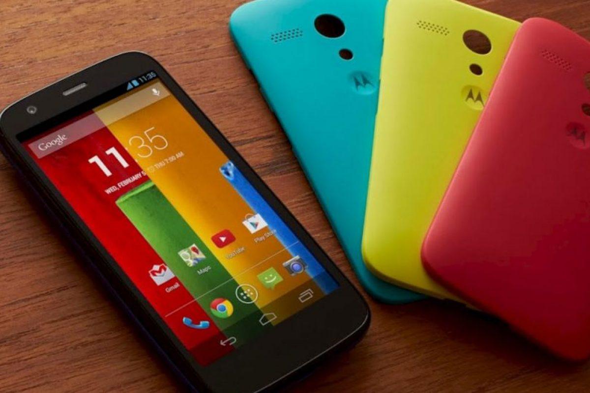 Moto G Foto:Motorola. Imagen Por: