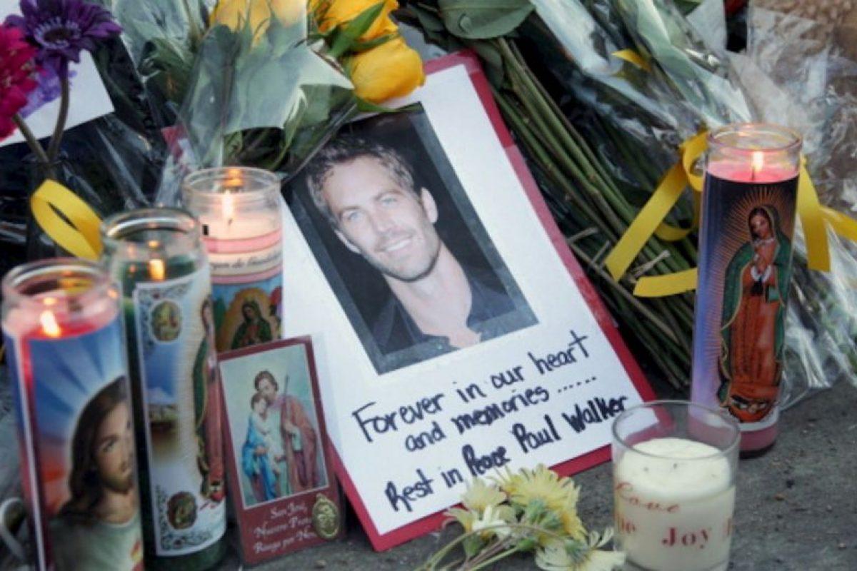 Walker perdió la vida en un accidente automovilístico el 30 de noviembre de 2013 Foto:gettyimages.com. Imagen Por: