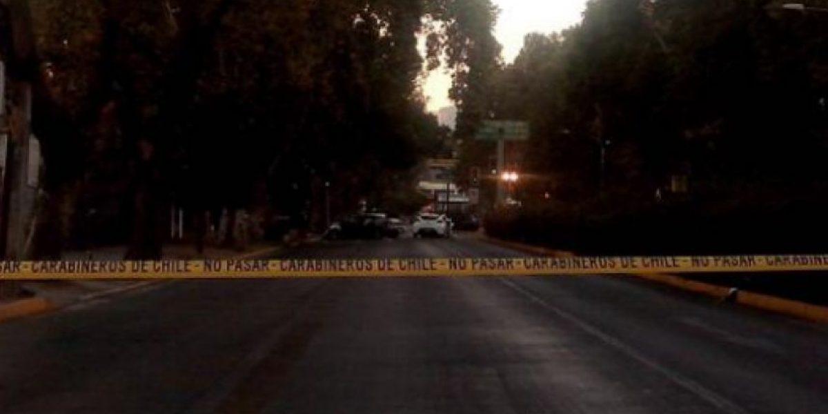 FOTOS: Choque entre dos autos deja un muerto y cuatro heridos en Ñuñoa