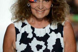La diseñadora de modas Diane Von Furstenberg Foto:Getty Images. Imagen Por:
