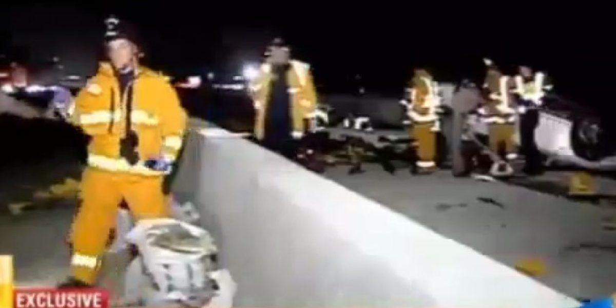 EE.UU: Detienen a bombero por estacionar mal su vehículo mientras ayudaba en un rescate