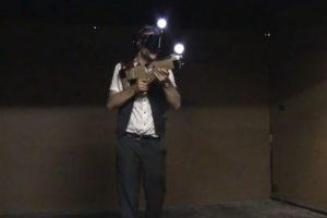 El armamento necesario. Foto:Zero latency / YouTube. Imagen Por: