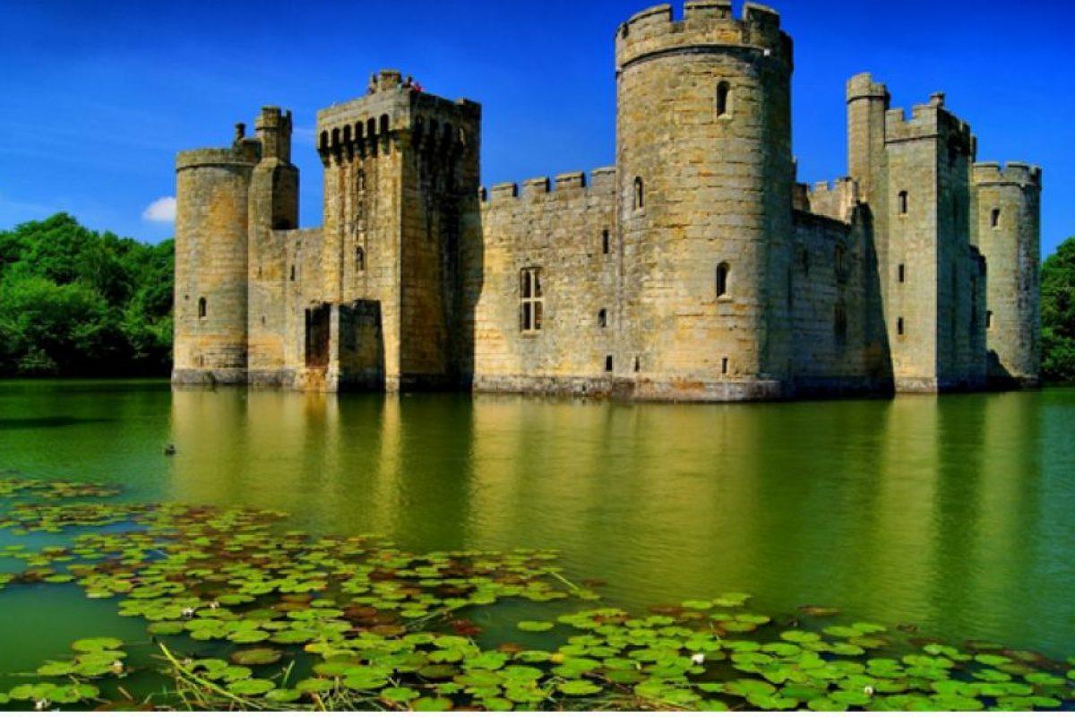 Foto:Castillo de Bodiam en East Sussex, Inglaterra. Imagen Por: