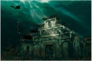 Foto:Shi-Cheng, la ciudad sumergida de China. Imagen Por: