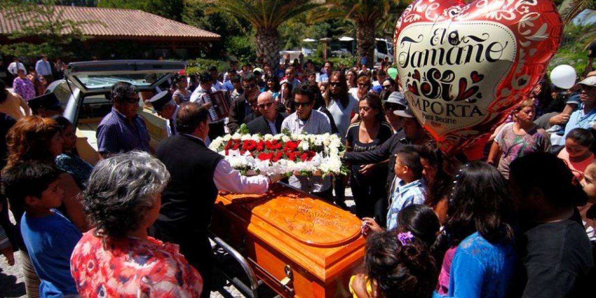 [FOTOS] Concurrido funeral de menor apuñalado por su primo de 8 años