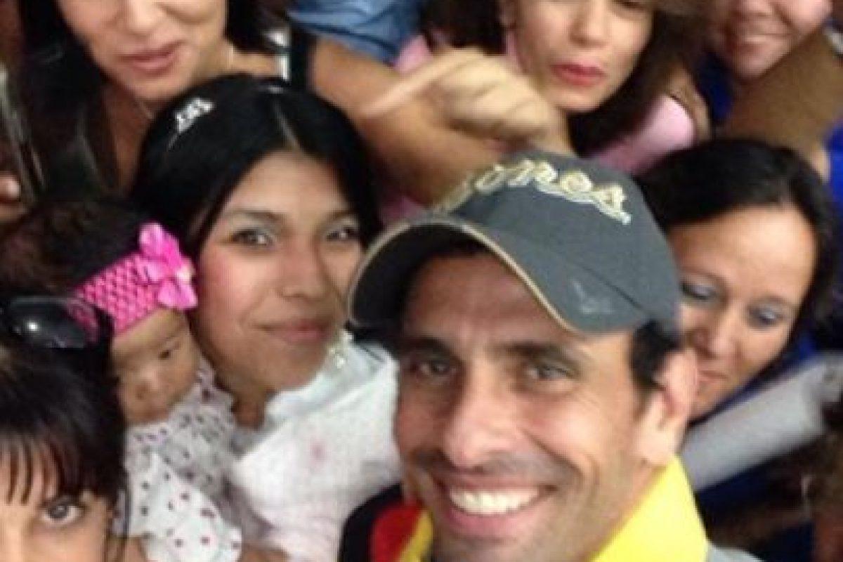 Foto:@hcapriles. Imagen Por: