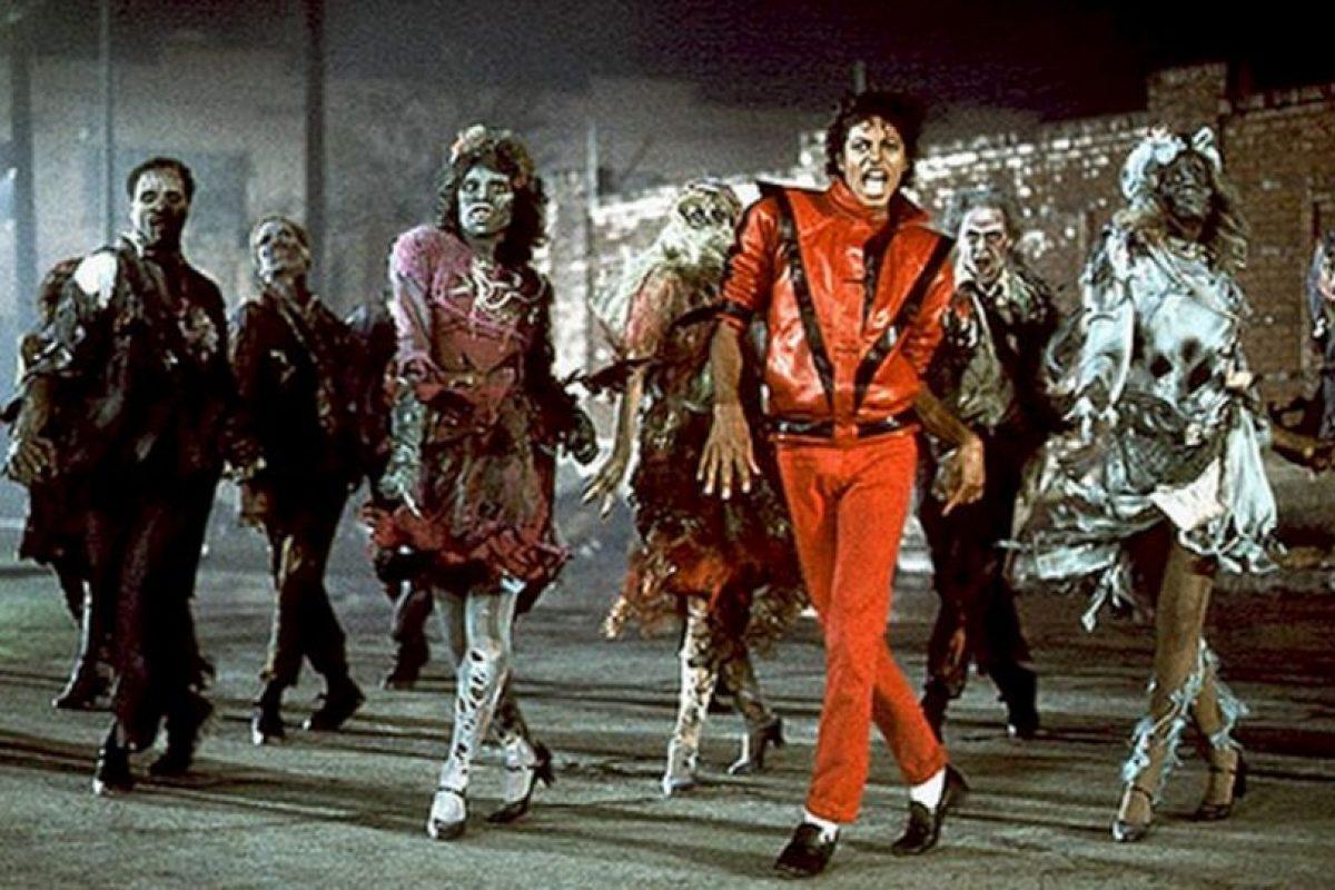 """Michael Jackson en """"Thriller"""" no podía faltar en nuestro conteo. ¿Cuántos de ustedes tuvieron pesadillas con esa cara de muerto cuando eran niños? Foto:Flickr image. Imagen Por:"""