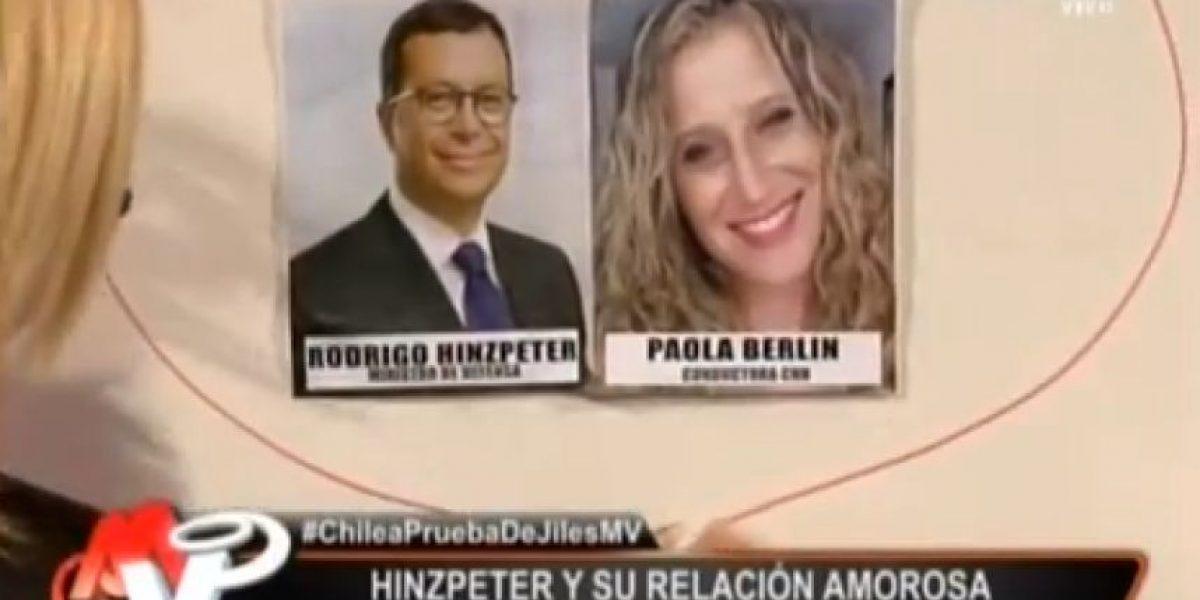 [VIDEO] Pamela Jiles revela la supuesta nueva pareja del ministro Hinzpeter