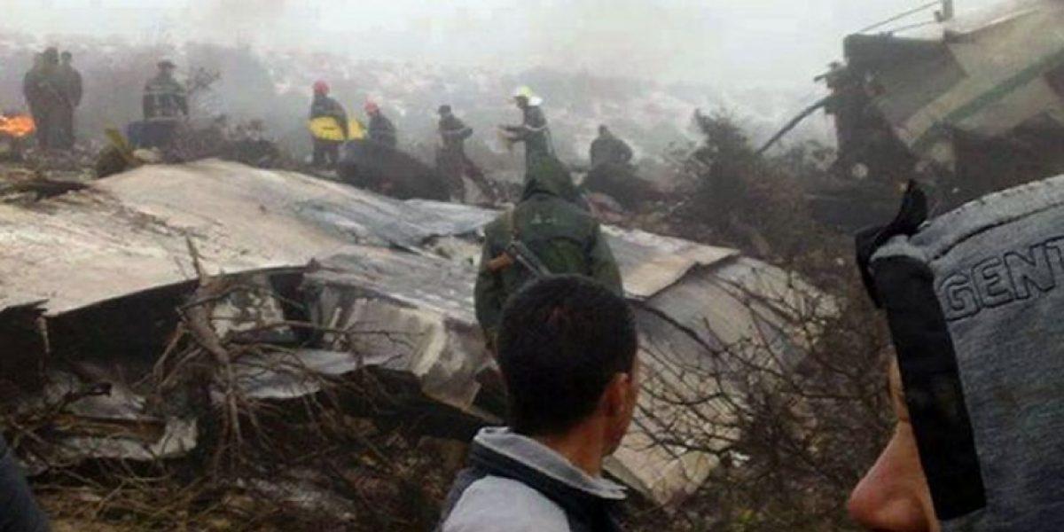 Argelia: Impactante imágenes del accidente aéreo que dejó 76 muertos y un superviviente