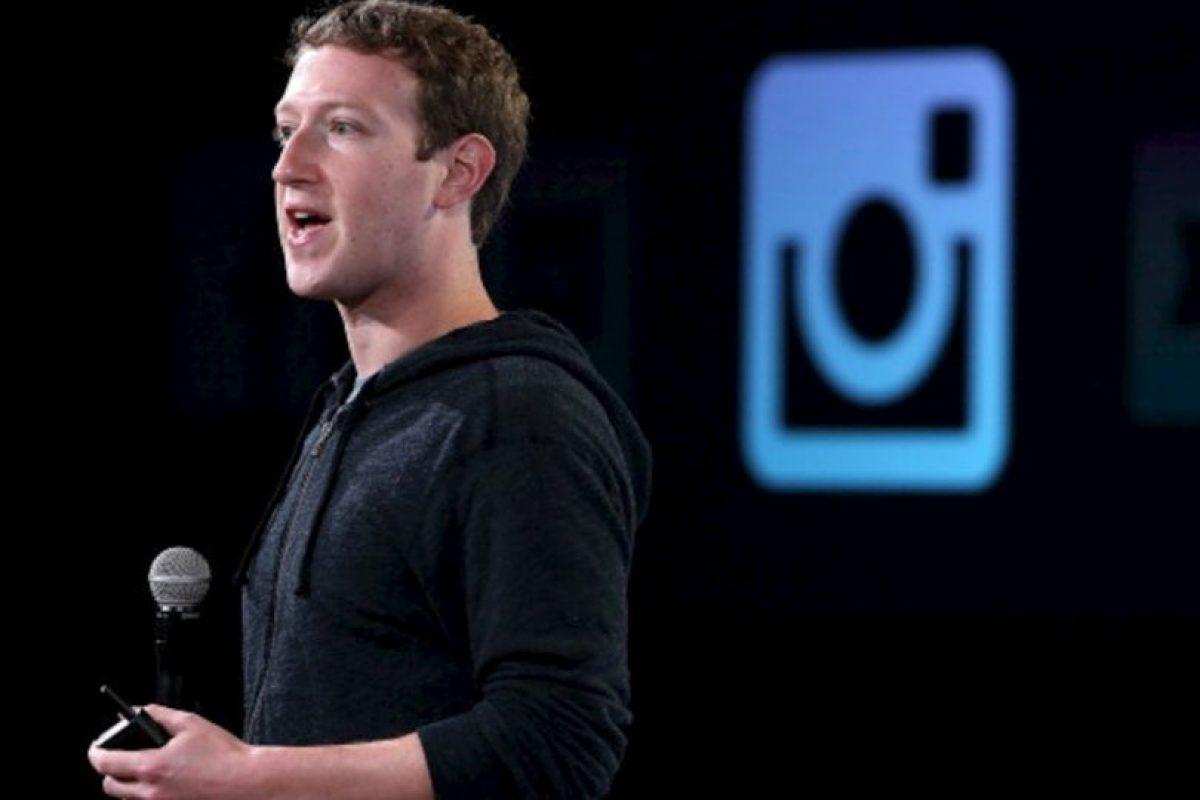 Mark Zuckerberg en la presentación de la función de video en Instagram Foto:gettyimages.com. Imagen Por: