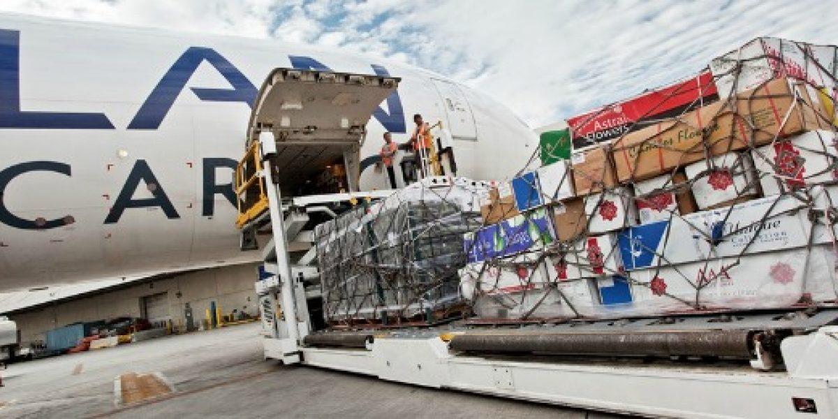LAN transporta más de 9 mil toneladas de flores para