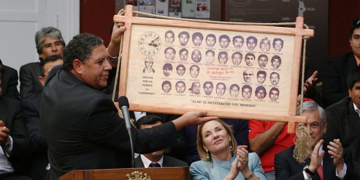 Luis Urzúa, líder de los 33: