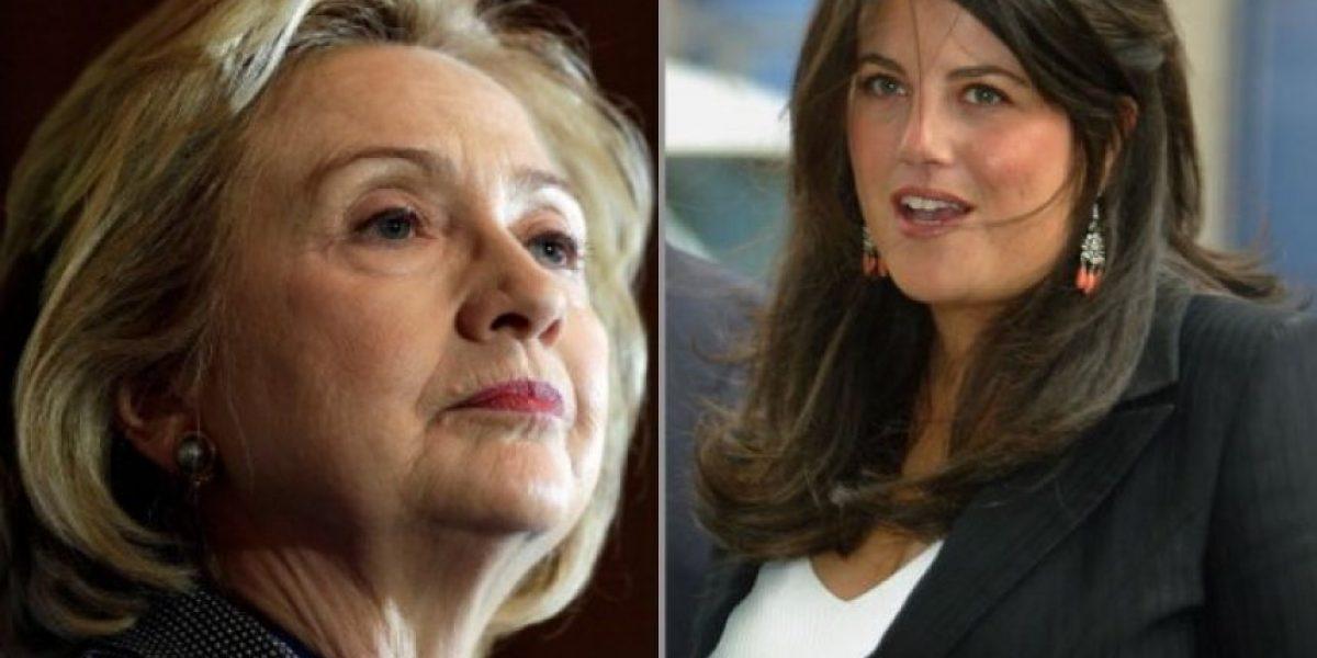 Describen la ofuscada reacción de Hillary Clinton ante el caso Lewinsky