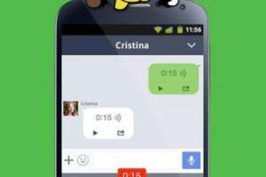 Chat en LINE. Foto:LINE. Imagen Por: