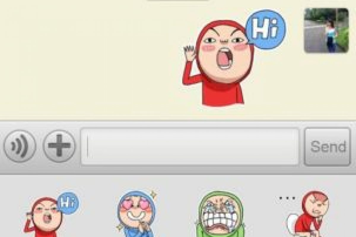 Stickers de WeChat. Foto:WeChat. Imagen Por: