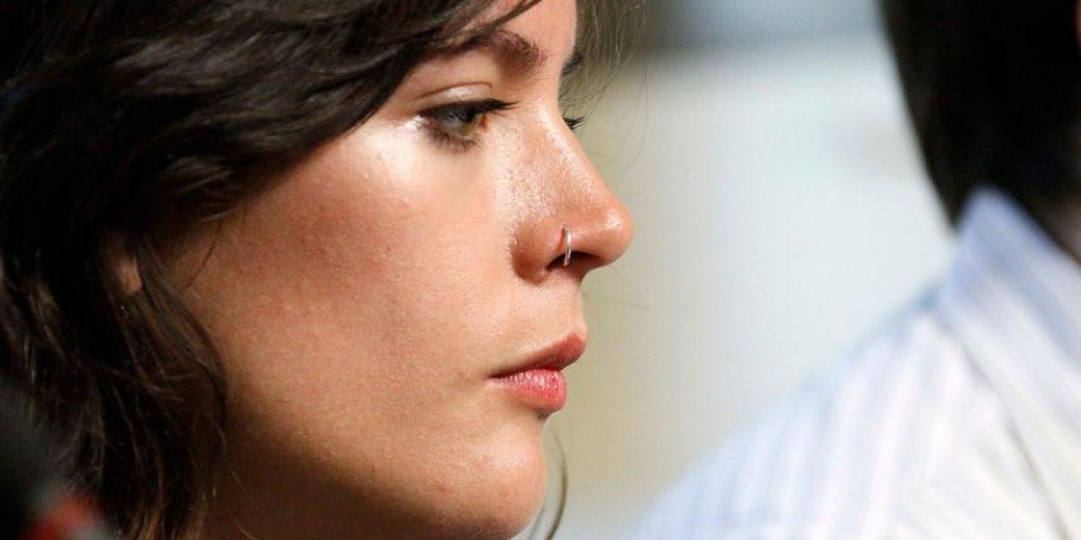 Camila Vallejo es multada por exceso de velocidad en Osorno