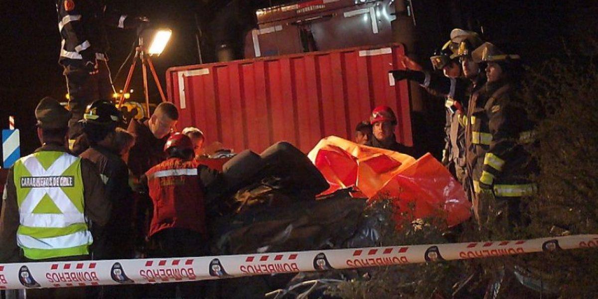 Tragedia en la ruta 68: Tres adultos y una lactante mueren en colisión multiple