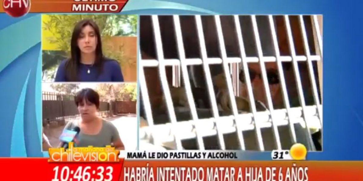 Detienen a mujer que con sicotrópicos trató de matar a su hija e intentó suicidarse en Macul