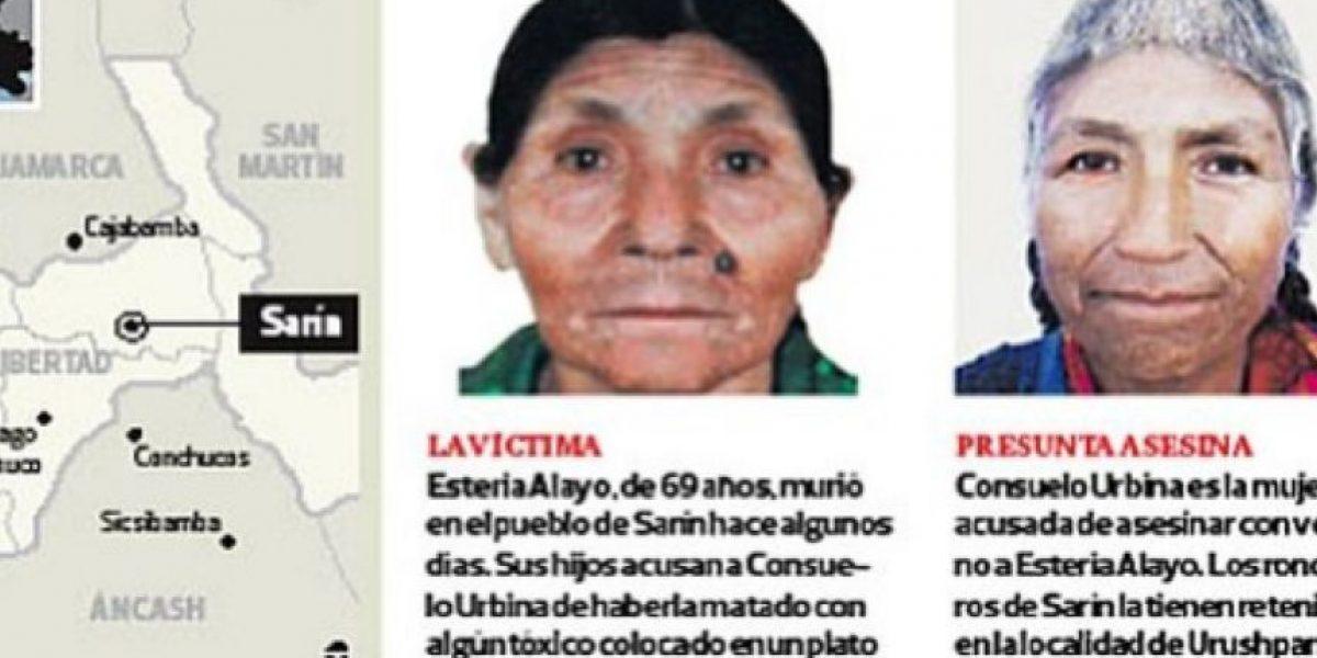 Campesinos secuestran a mujer acusada de brujería y asesinato en Perú
