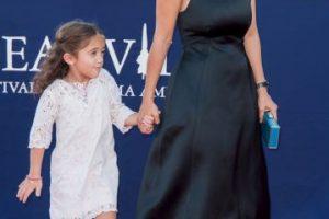La hija de Sayek y Pinault tiene la misma edad que su hermano, hijo de Linda Evangelista Foto:Getty Images. Imagen Por: