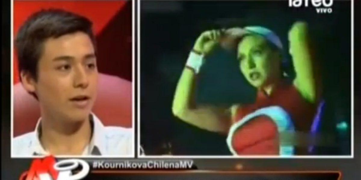 Emotivo relato del hijo de la Kournikova chilena en