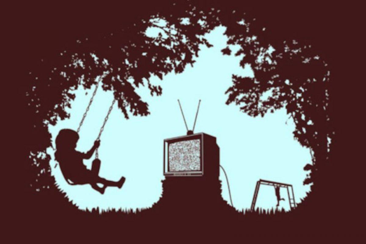 Todos los niños menores de seis años pasan dos horas frente a pantallas (de computadoras o de televisión) Foto:Tumblr. Imagen Por:
