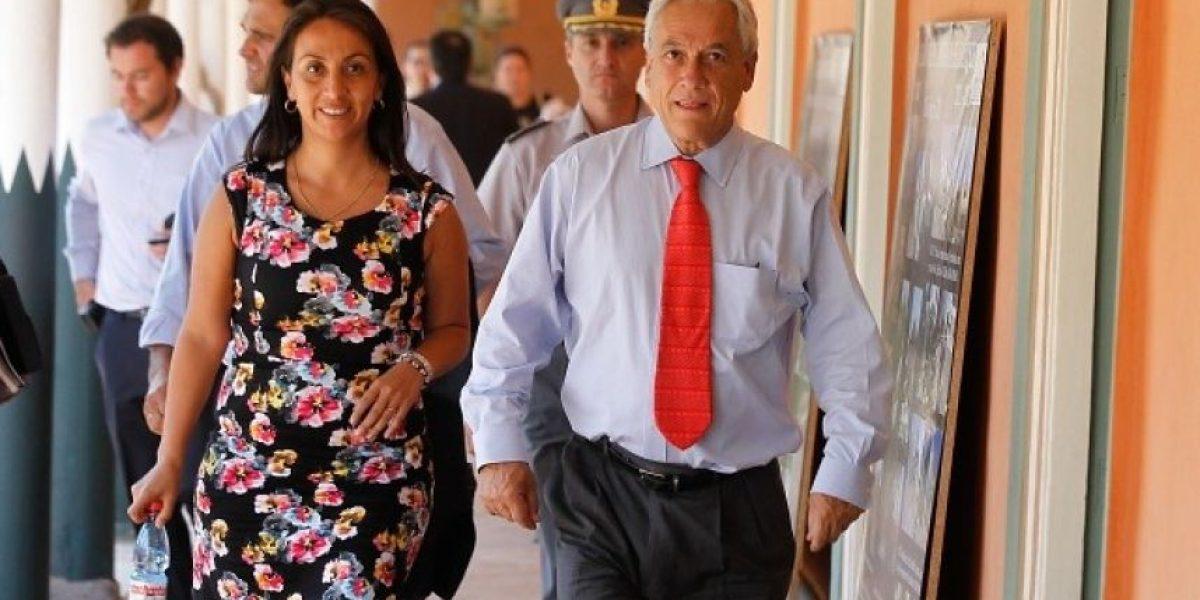 Vocera Cecilia Pérez confirmó la reunión del comité político en la casa de Presidente Piñera