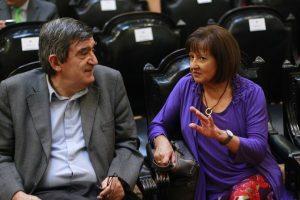 Tiene gran experiencia en el trabajo parlamentario. Perdió la última elección frente a Carlos Montes. Imagen Por: