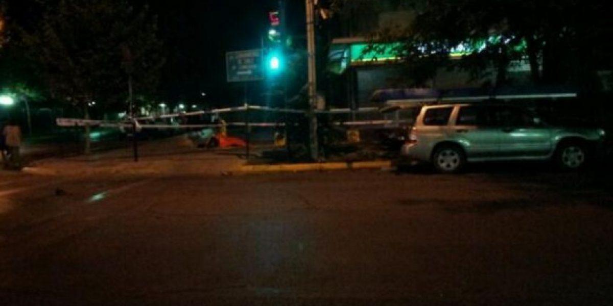 Motorista perdió la vida tras un grave accidente en la comuna de Providencia