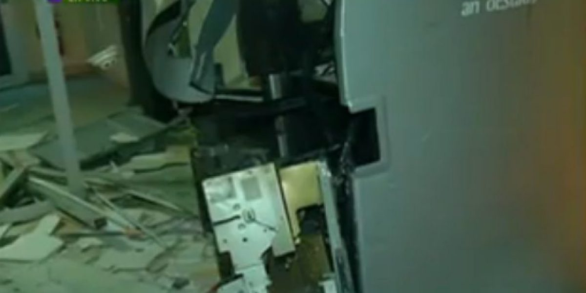 Carabineros indaga robos a cajeros automáticos en dos puntos de Santiago