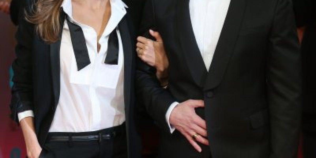 La pareja que se robó las miradas en los Bafta Awards
