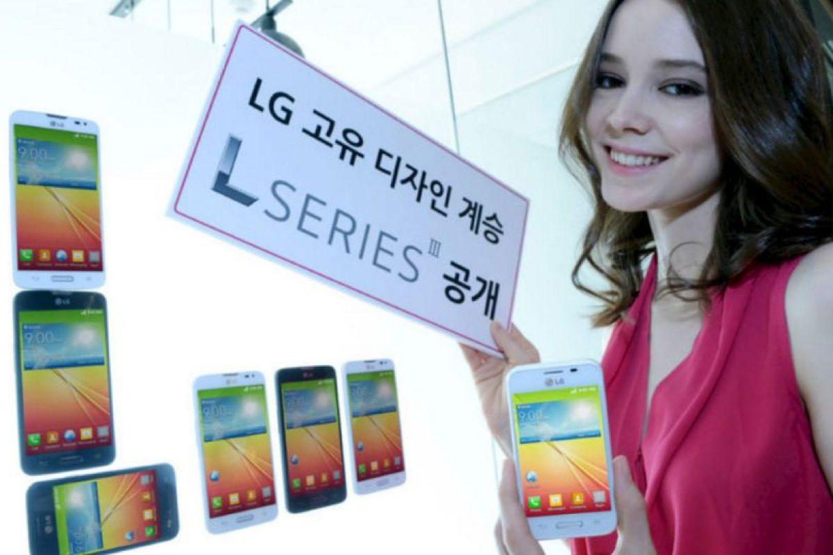 L90, L70 y L40 en blanco y negro. Foto:LG. Imagen Por: