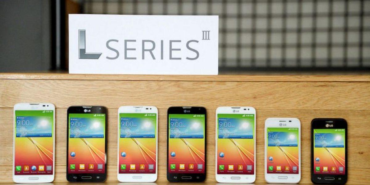 Así lucen los nuevos smartphones de LG