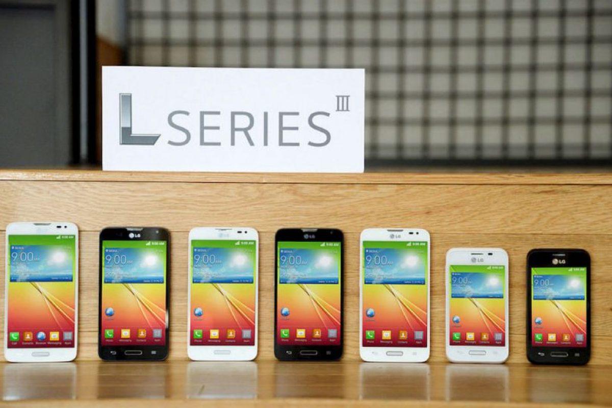 Los nuevos integrantes de LG L Series III. Foto:LG. Imagen Por: