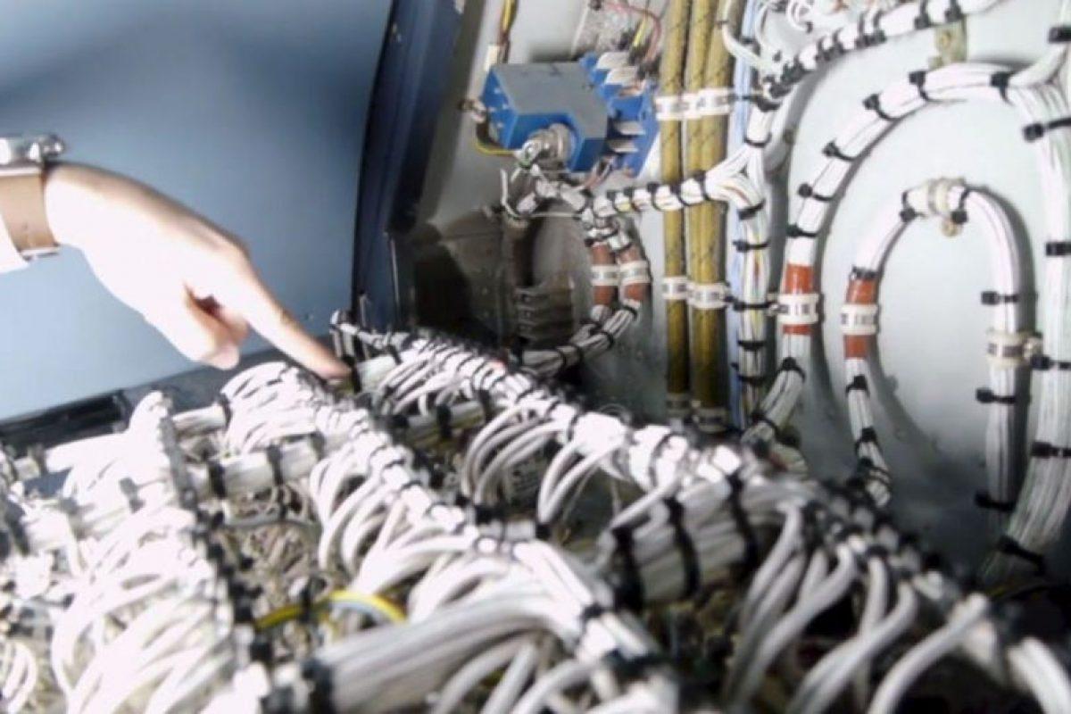 Se diseñó una red de alimentación para que no les falte batería. Foto:Iberia. Imagen Por: