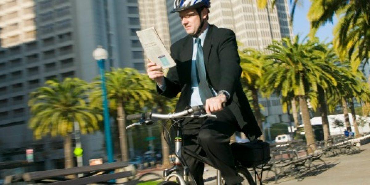 Seis tips para llegar en bicicleta a la oficina