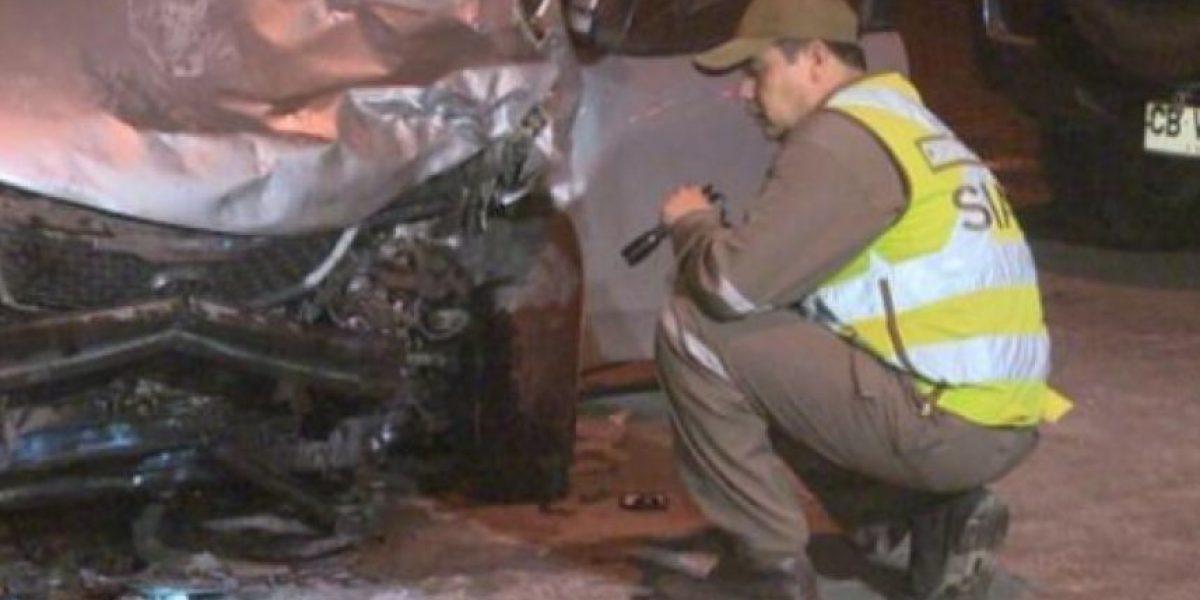 Accidente de tránsito dejó a una embarazada muerta y a otra herida en Maipú