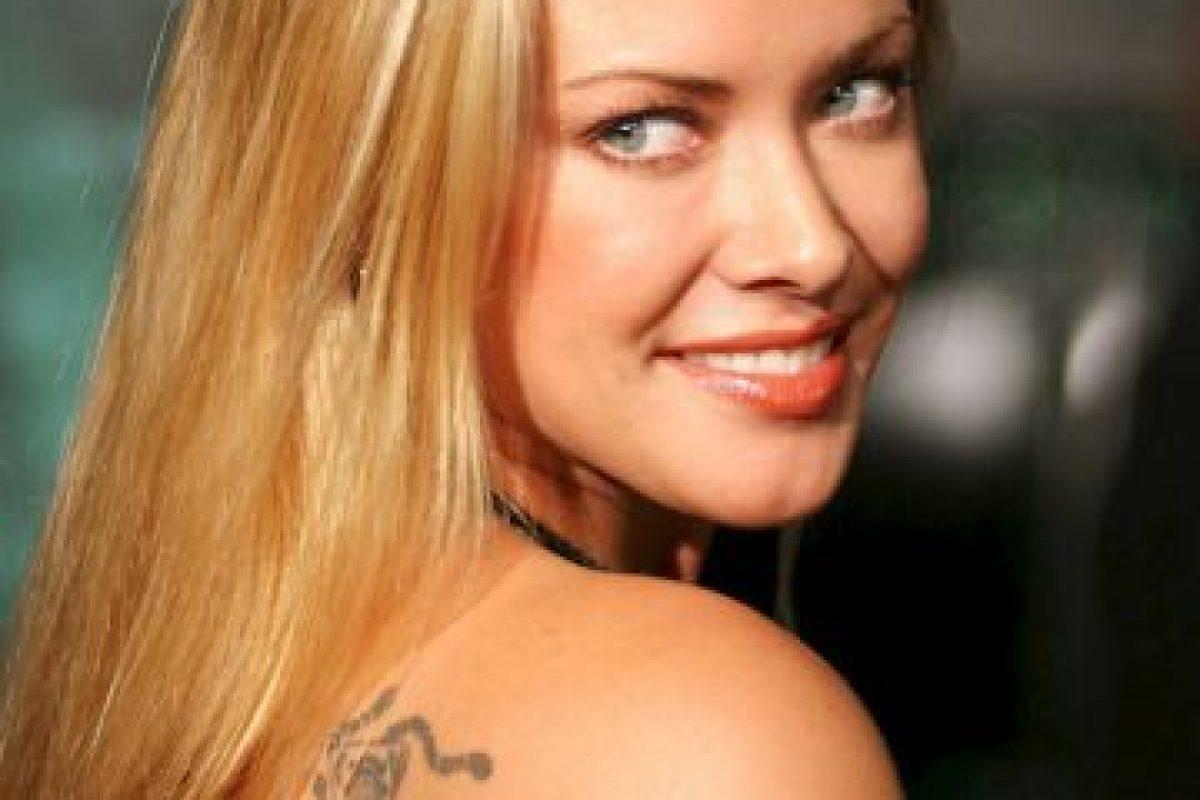 Kristanna Loken apareció en Bloodrayne junto con Michelle e inmediatamente hubo rumores sobre su relación Foto:Getty Images. Imagen Por: