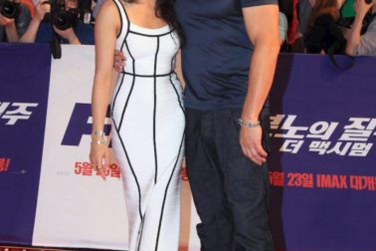 Hubo rumores sobre la supuesta relación entre Vin Diesel y Rodríguez Foto:Getty Images. Imagen Por: