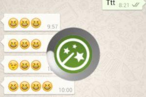 """Cuando selccionan """"Actualizar mensajes"""" saldrá ese icono. Foto:Kiwiio. Imagen Por:"""