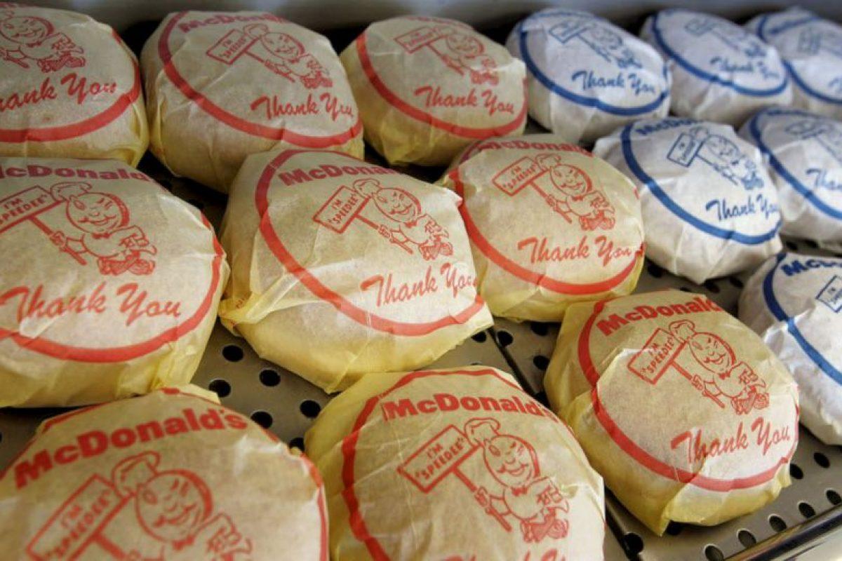 Más de 3 mil millones de hamburguesas de McDonalds Foto:Getty Images. Imagen Por: