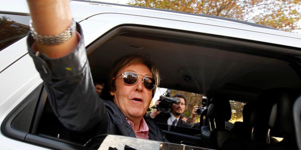 Paul McCartney podría volver a Chile a tres años de su última visita