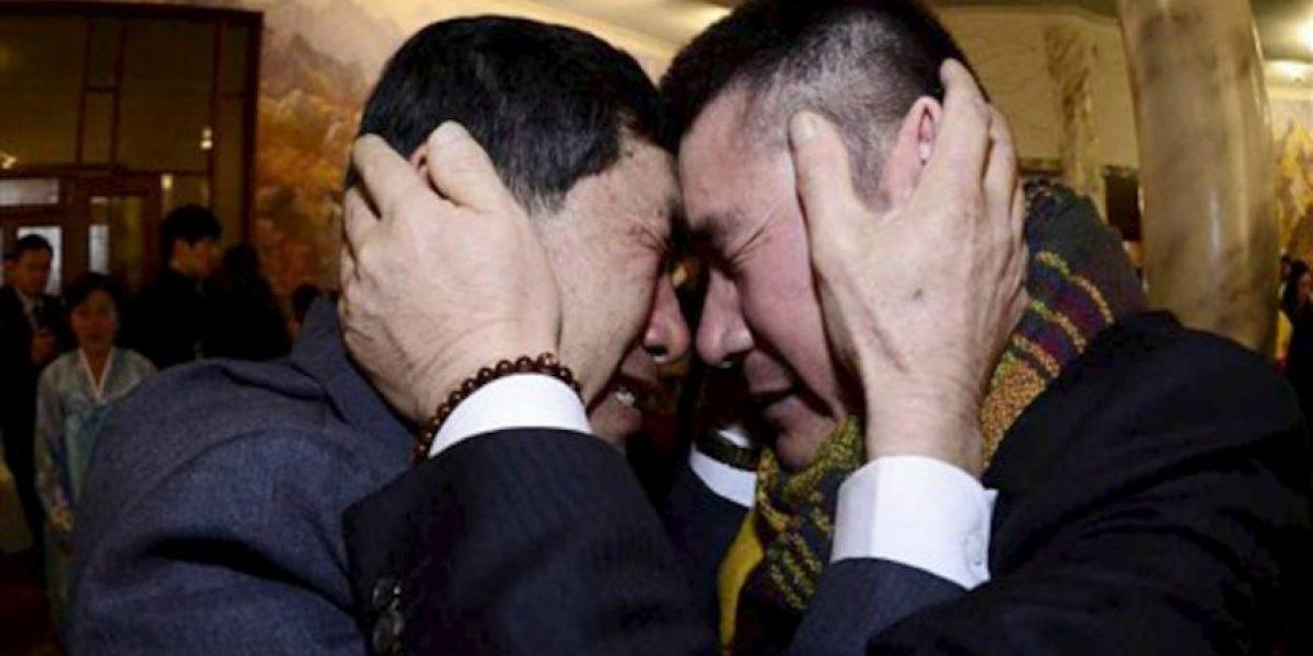 FOTOS: Así reaccionaron familias coreanas que estuvieron 60 años separadas