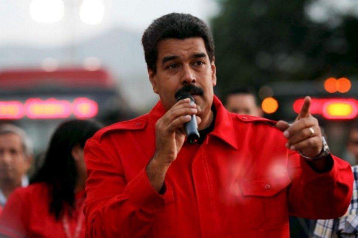 Nicolás Maduro, presidente de Venezuela. Foto:AFP. Imagen Por: