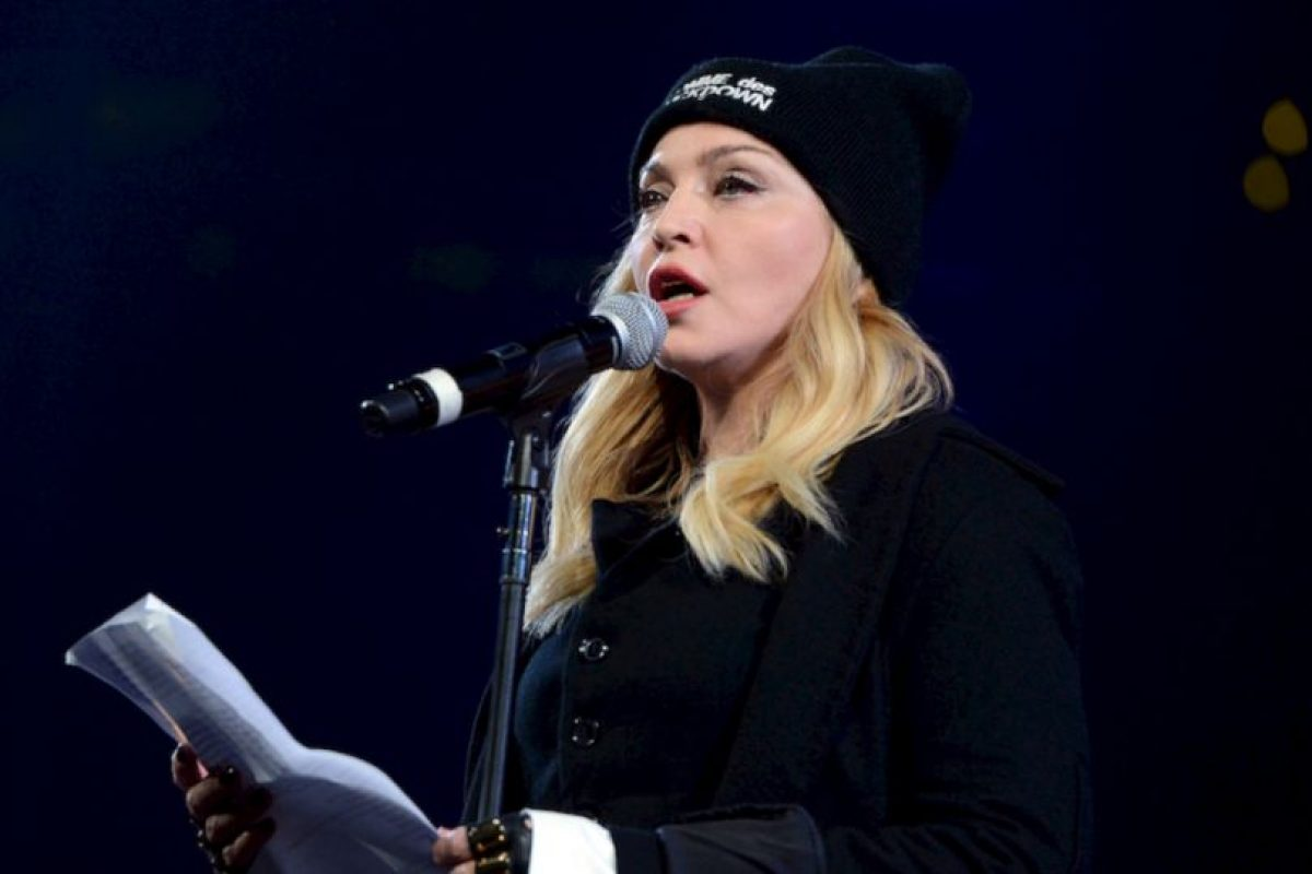 La cantante Madonna también criticó a Nicolás Maduro. Foto:Getty Images. Imagen Por: