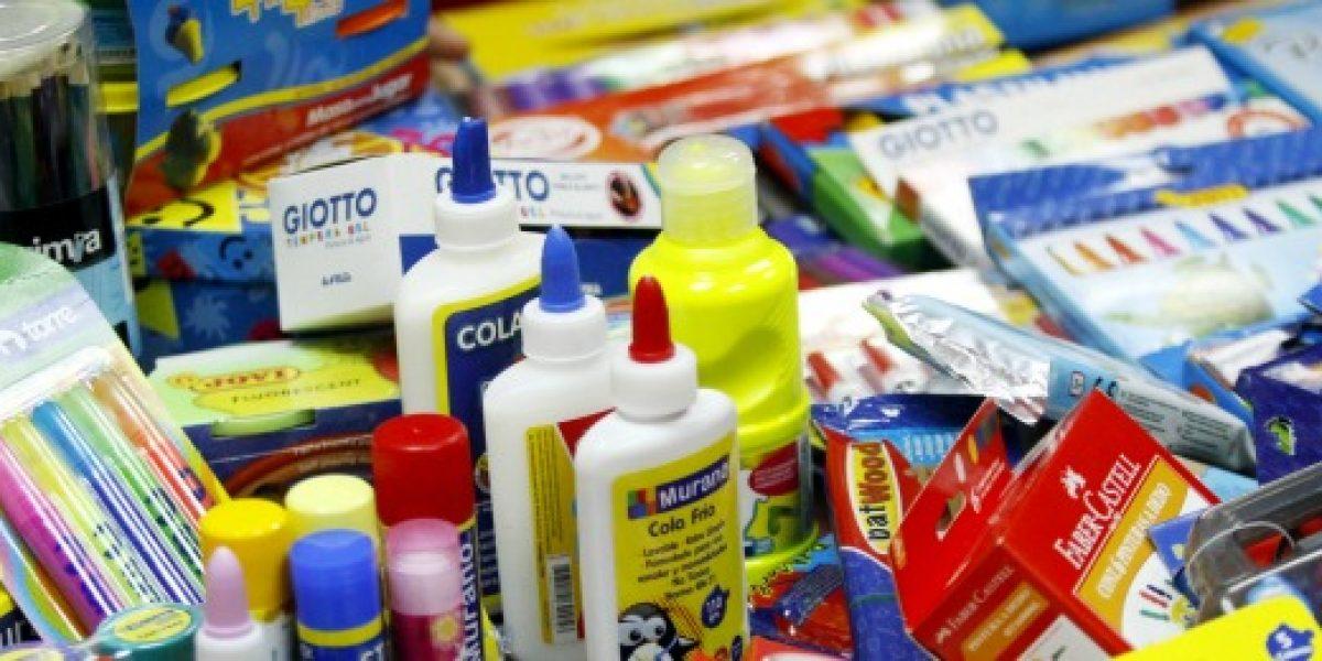 CNC: un alza de 7,5% tendrá venta de artículos y útiles escolares esta temporada