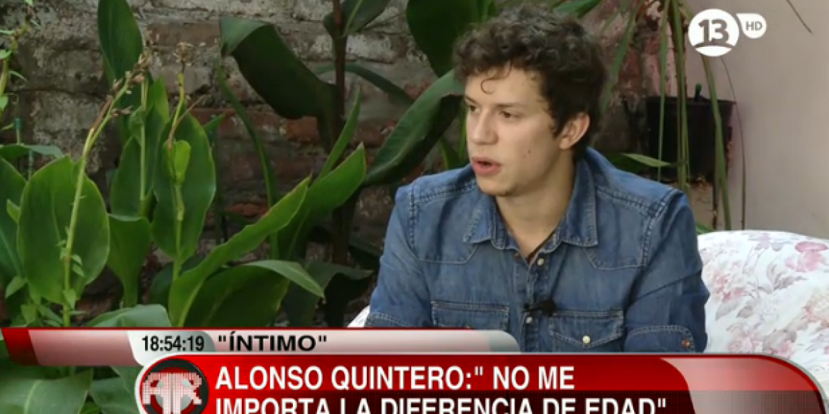 Alonso Quintero detalló cómo conquistó a Sigrid y habló sobre la diferencia de edad